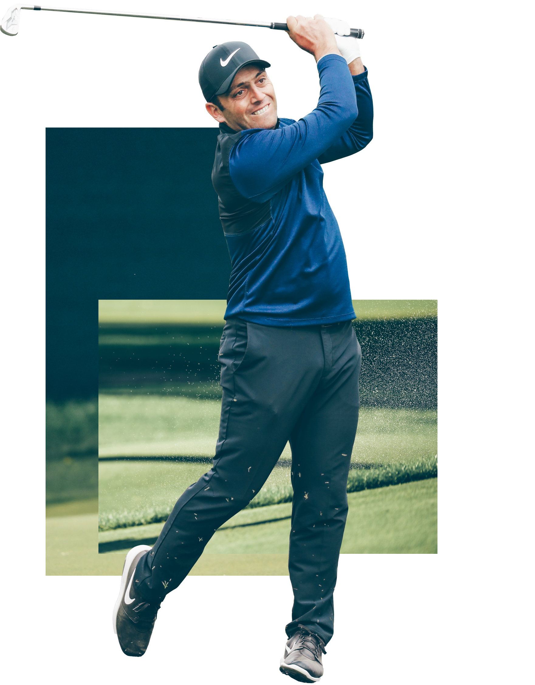 Francesco Molinari BMW